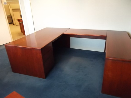 Kimball u shape desk sets d3095c conklin office furniture - Kimball office desk ...