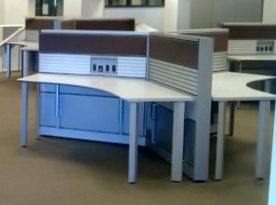 Knoll Autostrata Pinwheel Workstations Conklin Office